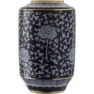 ODILIA vase h42cm blue