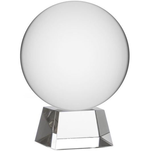 Picture of SPHERE decoration h11cm clear