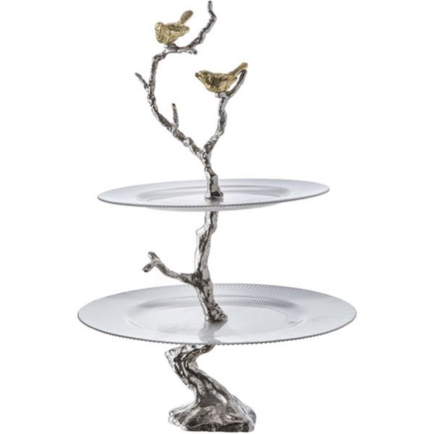 Picture of BRANCHY decoration h61cm clear