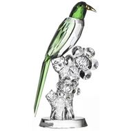 PARROT decoration h27cm green/clear