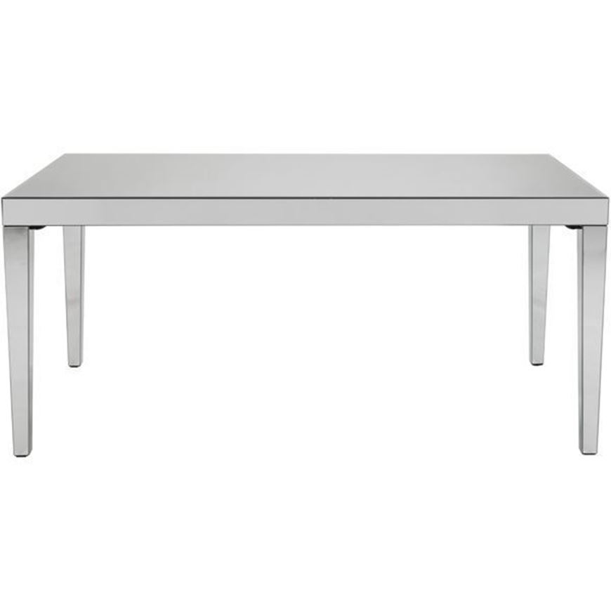TORA dining table 180x93 clear