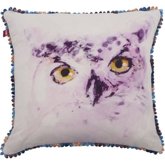 Picture of HOOTS cushion cover 45x45 multicolour