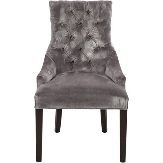 Picture of HARA dining chair grey/brown
