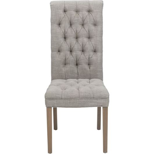 Picture of PULL dining chair taupe/taupe