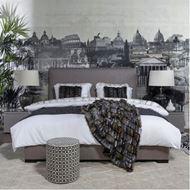 TOG bed 180x200 brown