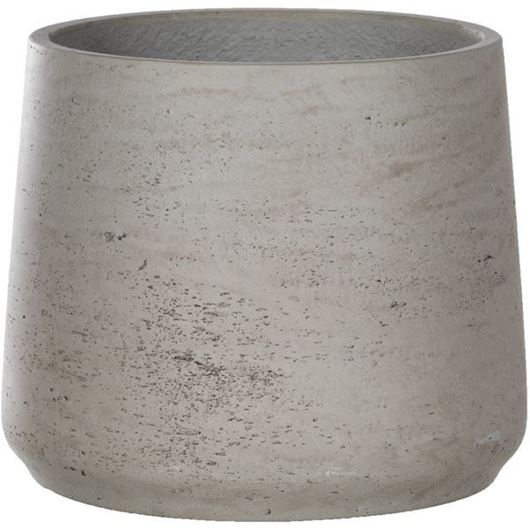Picture of CEMENT planter h20cm grey