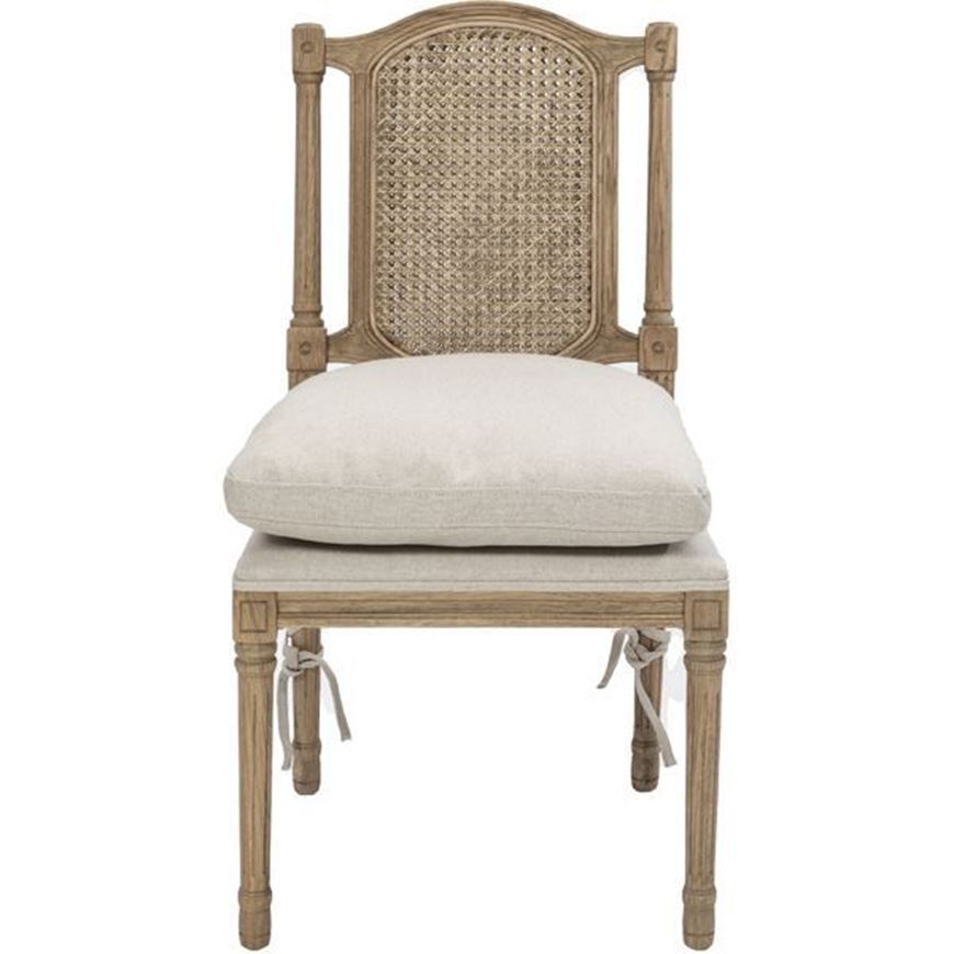 Picture of MARI dining chair natural/taupe