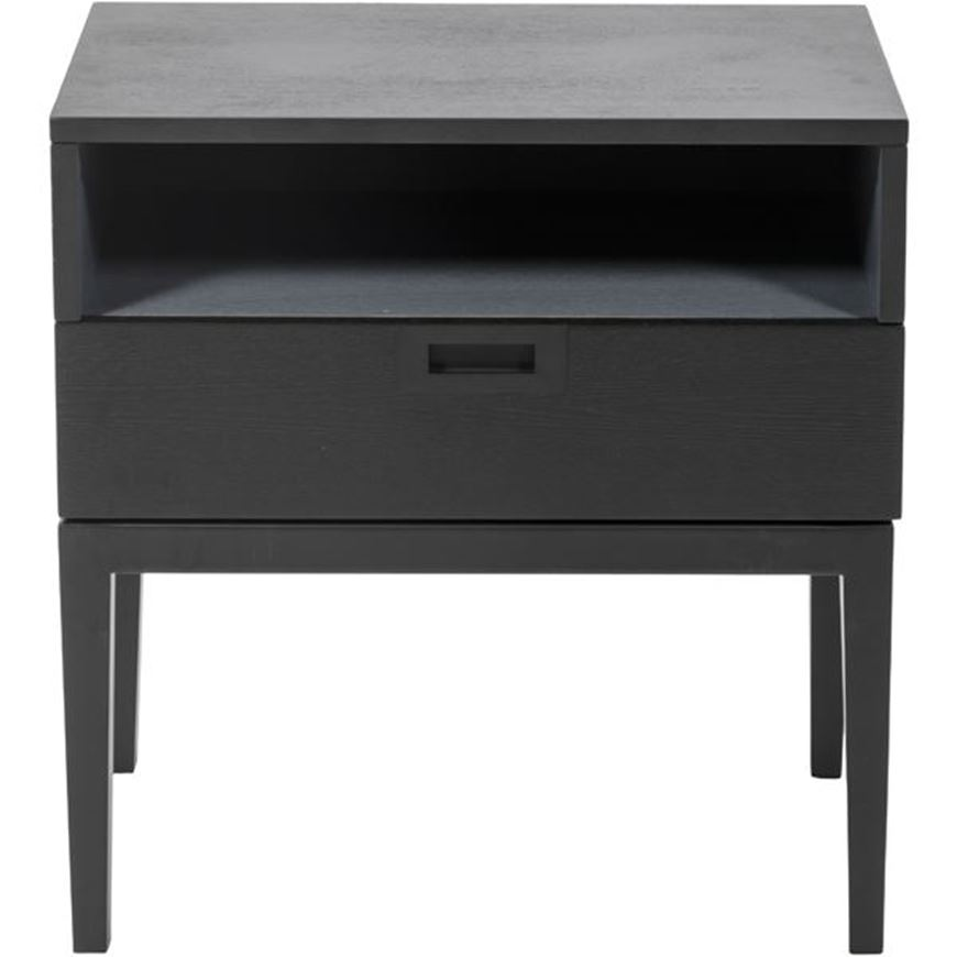 Picture of LENK bedside table black