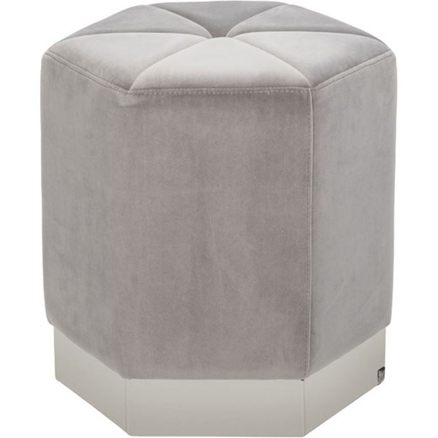Picture of DEXTER stool 40x40 silver