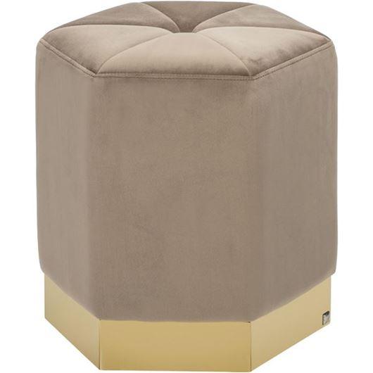 Picture of DEXTER stool 40x40 beige