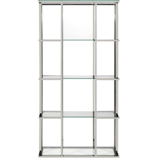 Picture of RABIL display unit 200x100 clear/stainless steel