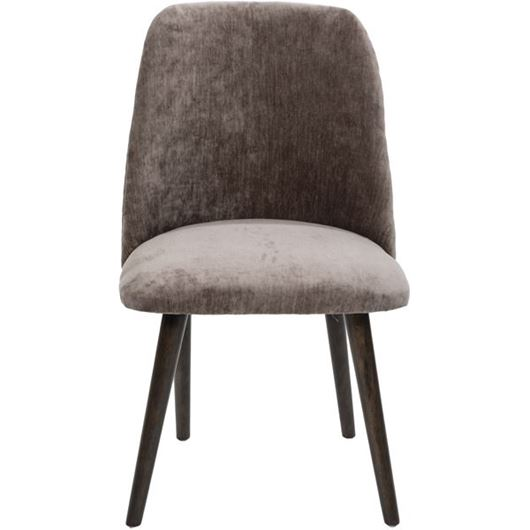 Picture of ZAK dining chair brown/grey brown