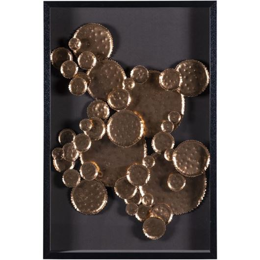 Picture of THALIA wall decoration 60x90 black