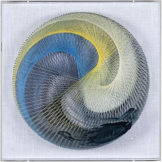 Picture of OLWEN C wall decoration 45x45 multicolour
