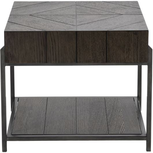 Picture of OPERA side table 60x64 dark brown