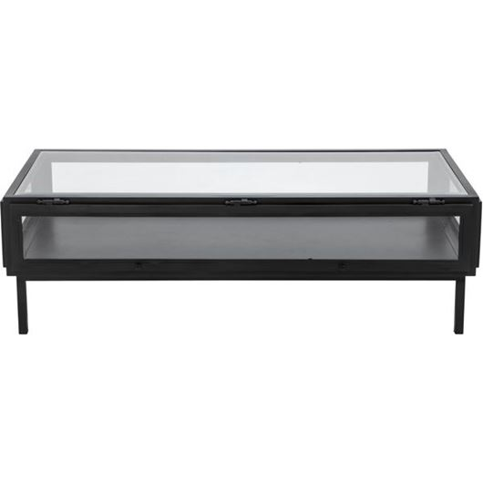 Picture of KEY WEST coffee table 140x65 black