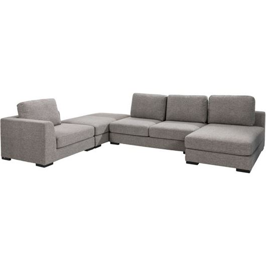 Picture of SWINN corner sofa brown