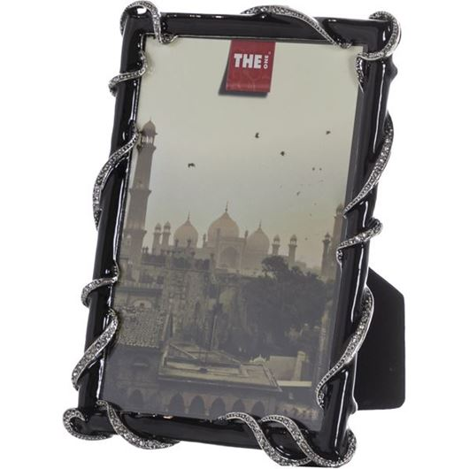 Picture of FRIYA photo frame 10x15 silver/black