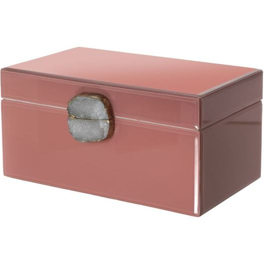 Picture of BLUSH box 35x21 pink