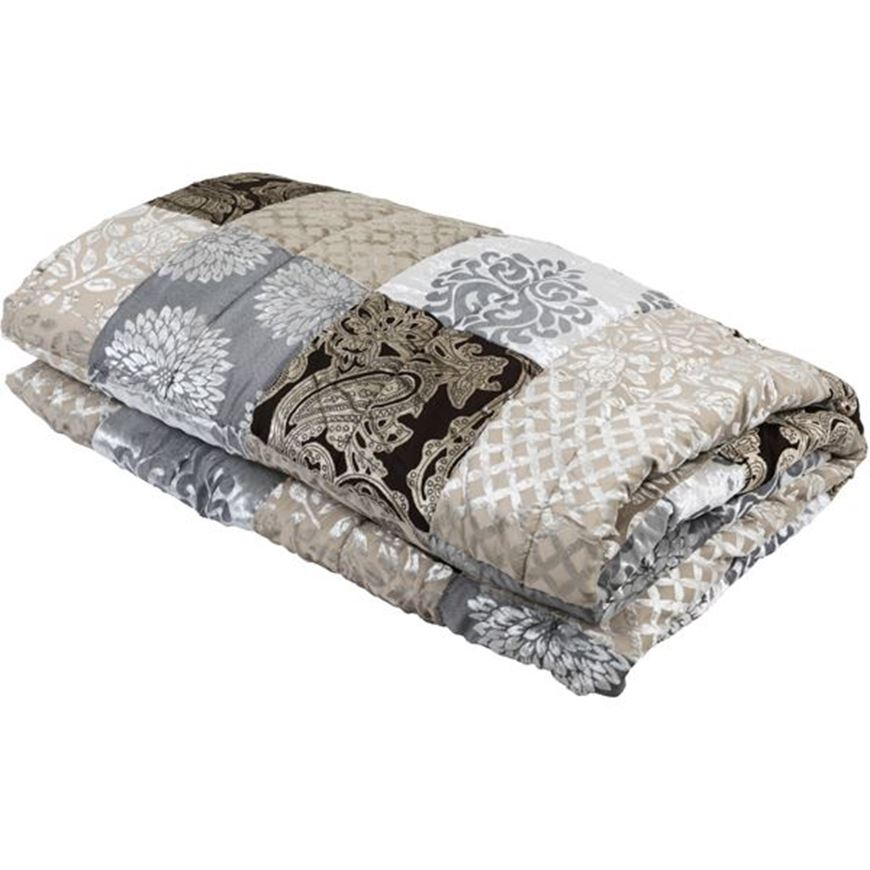 Picture of ANAHITA bedspread 230x250 grey