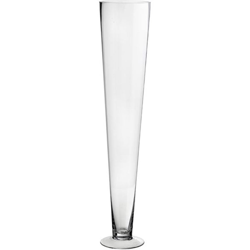 Picture of VIANNE vase h60cm clear