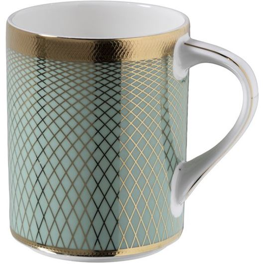 Picture of TIFFANY mug blue/gold