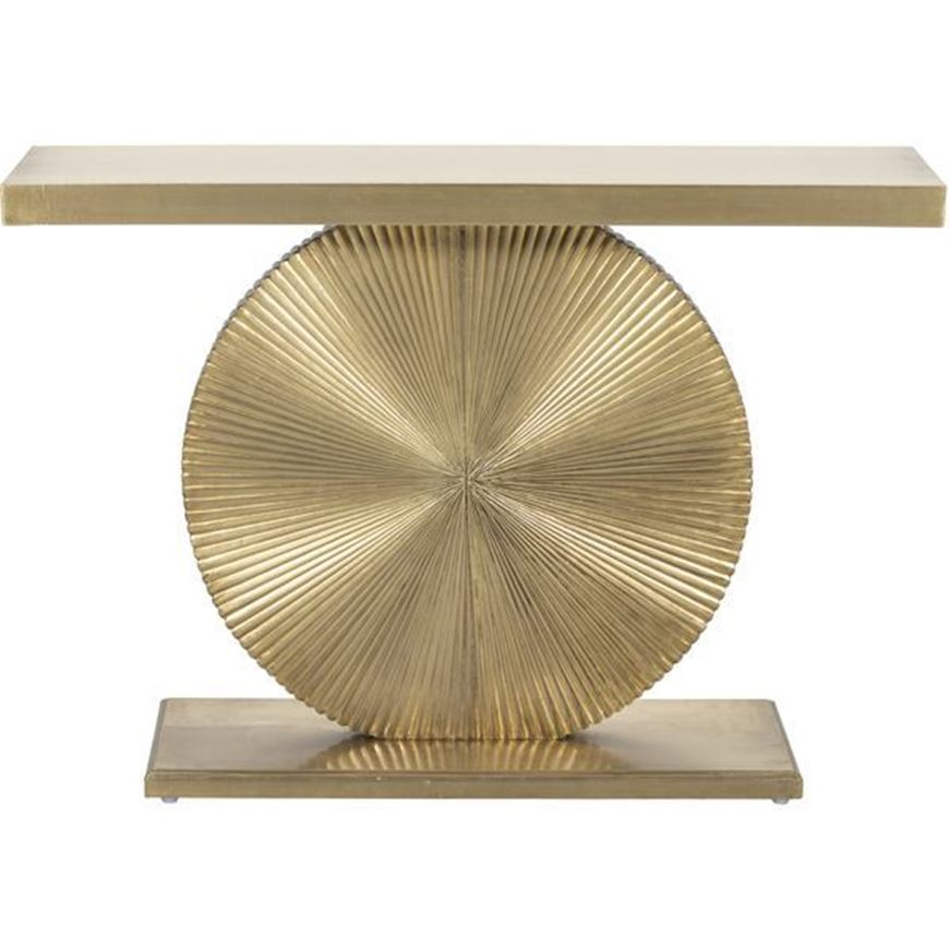 WHEEL console 110x30 gold