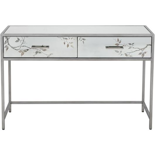 Picture of ROSLIN console 120x42 clear/silver