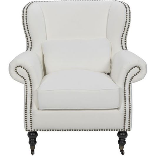 Picture of SKOL wing chair white