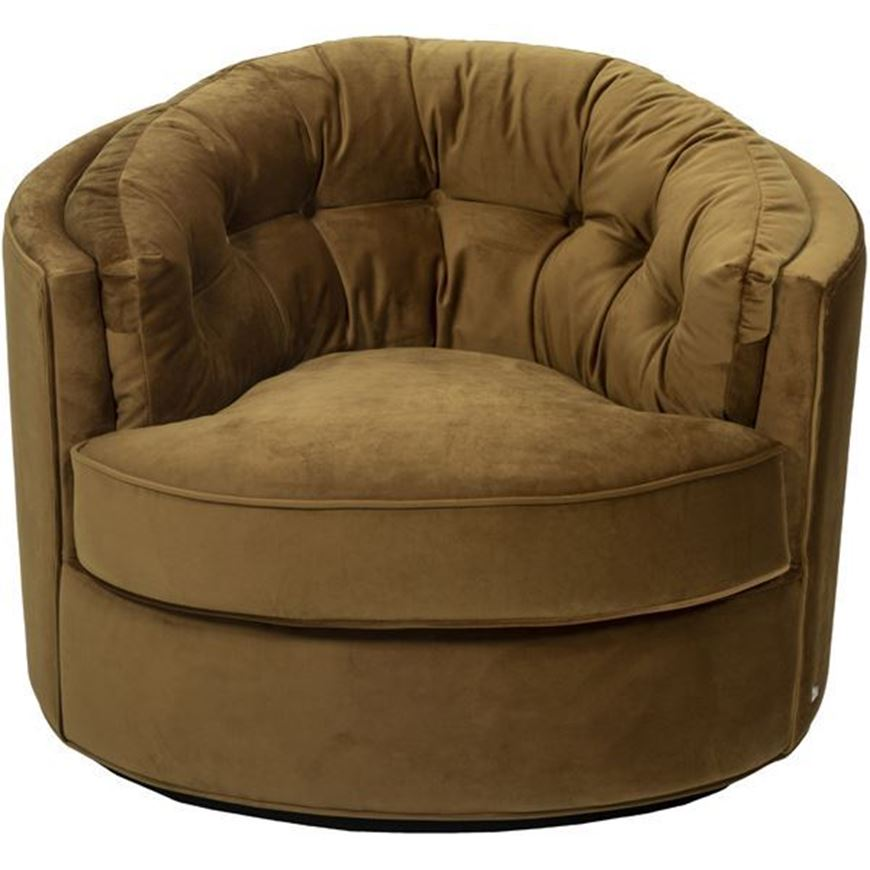 NIGHT armchair brown
