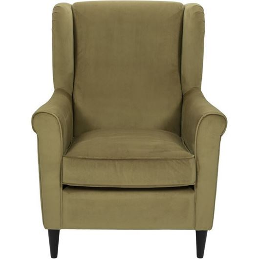 Picture of KLEN wing chair yellow