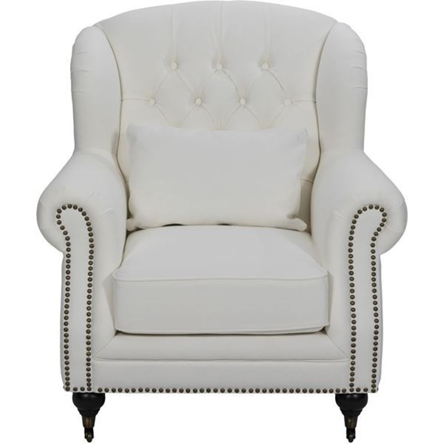 Picture of MILLS wing chair white