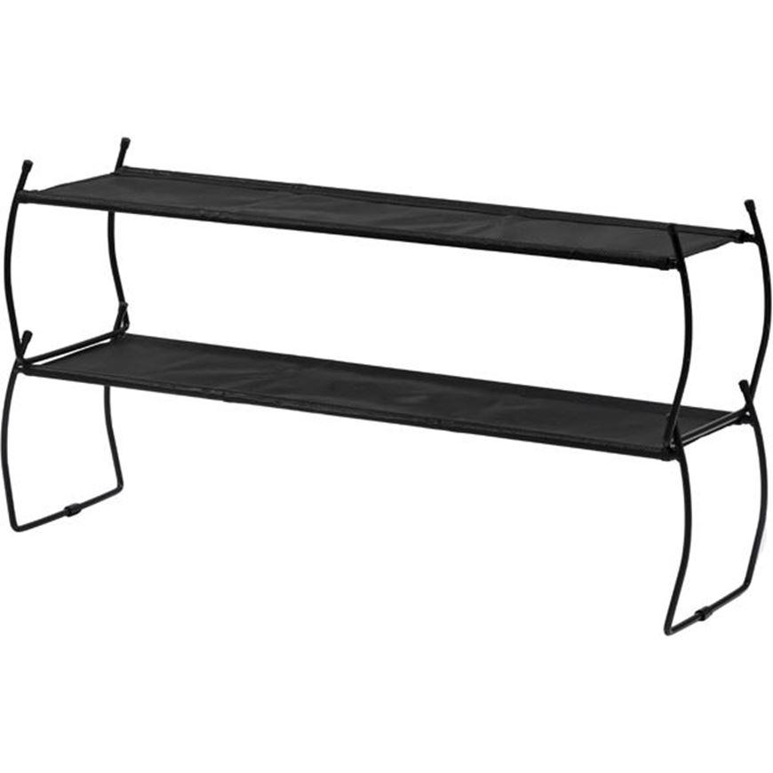 Picture of IMELDA shoe rack 81x43 black