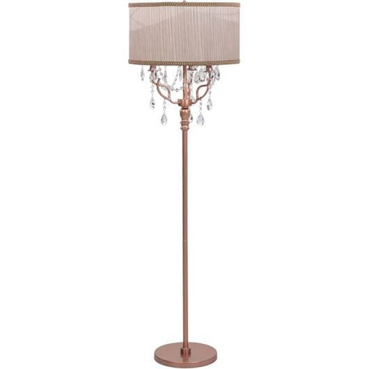 Picture of ERVIN floor lamp h158cm beige