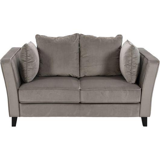 Picture of LOOS sofa 2 microfibre taupe