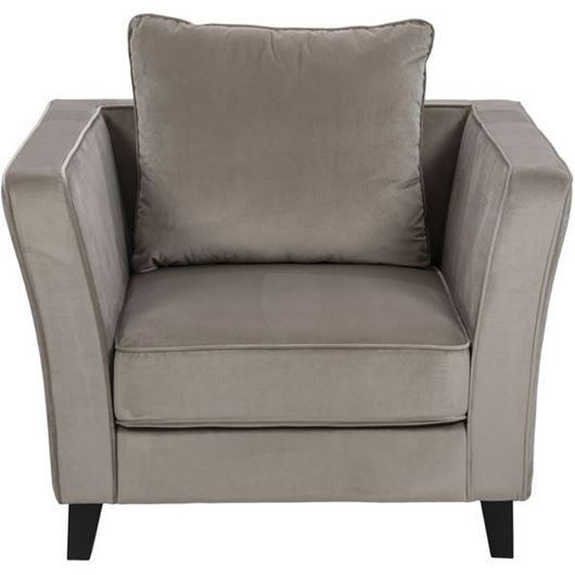 Picture of LOOS chair microfibre taupe