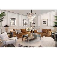 KARL sofa 2 brown