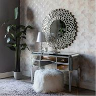 LINA dressing table 125x54 clear/silver