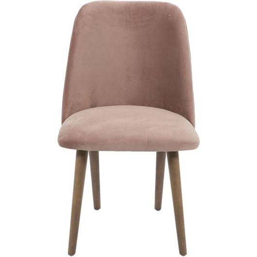 Picture of ZAK dining chair pink/taupe