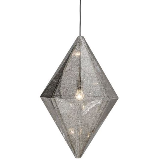 Picture of OLINA pendant lamp d50cm stainless steel