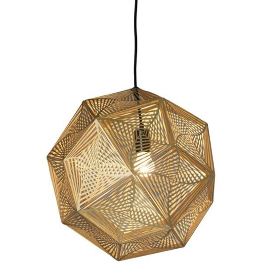 Picture of LISS pendant lamp d48cm brass