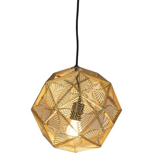 Picture of LISS pendant lamp d32cm brass