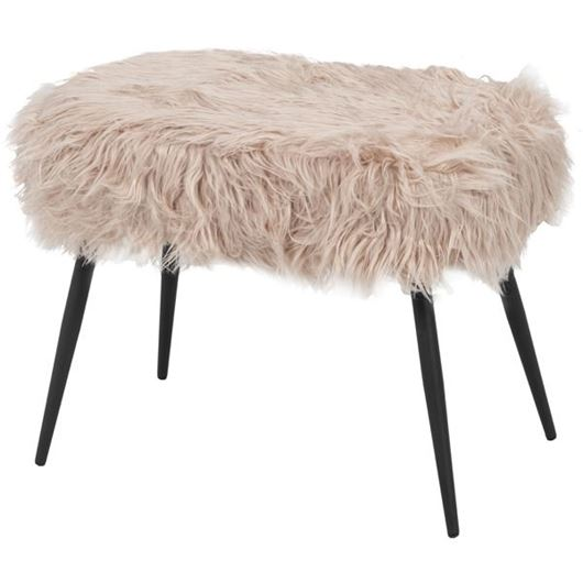 Picture of LAMB stool 60x40 pink