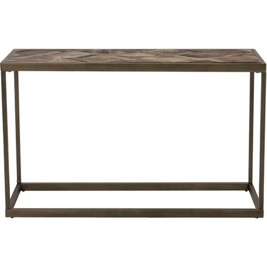 Picture of YET console 120x40 brown/gold