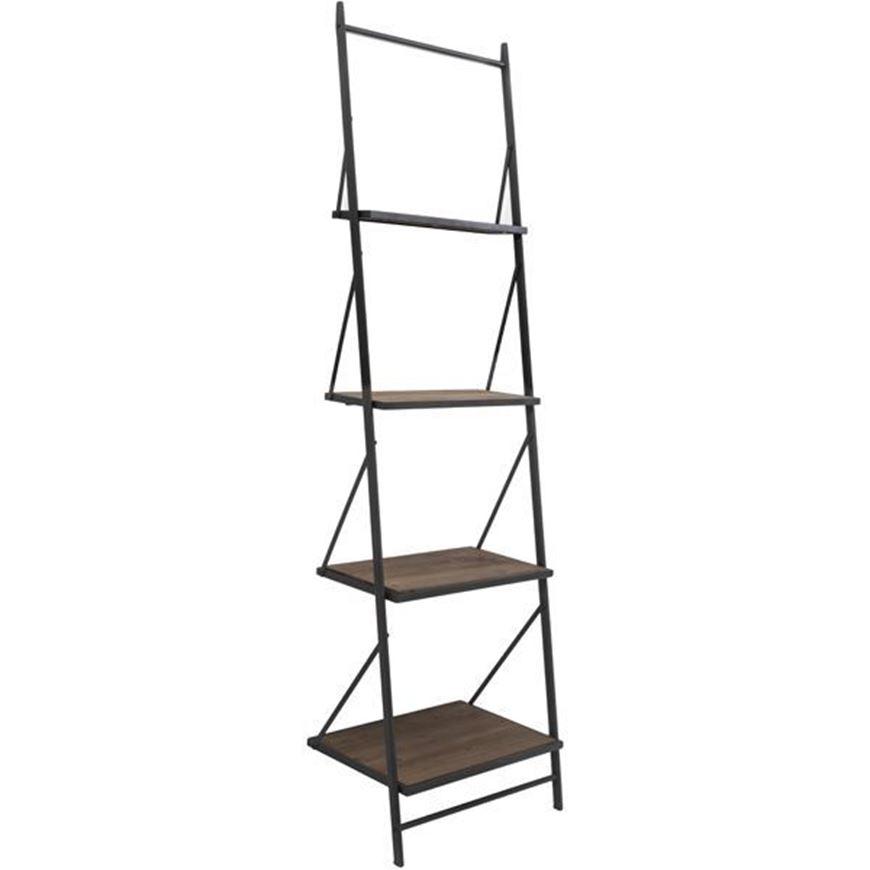MAR bookcase 210x61 black
