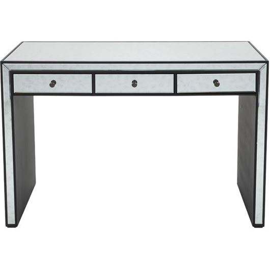 Picture of JIM desk 122x61 clear/black