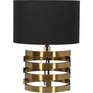 KOIL table lamp h47cm black/brass