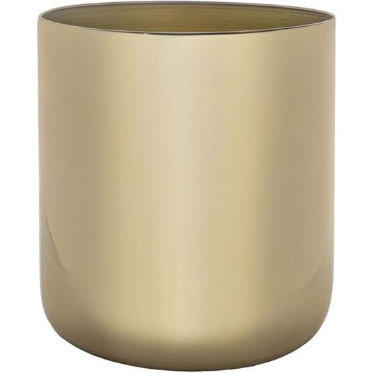 Picture of MELVILLE planter h21cm gold
