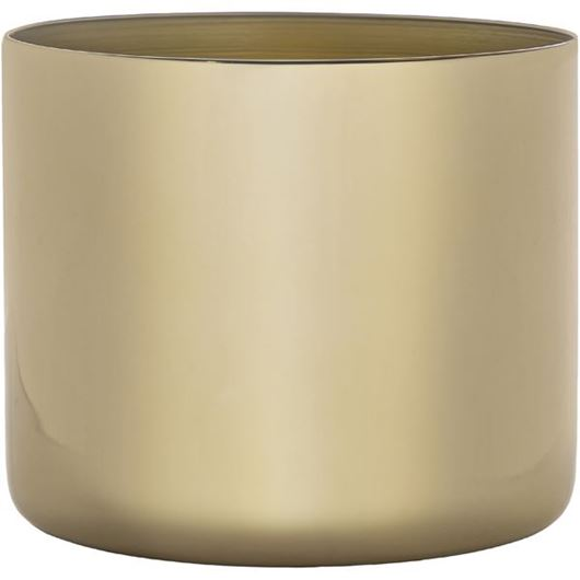 Picture of MELVILLE planter h22cm gold