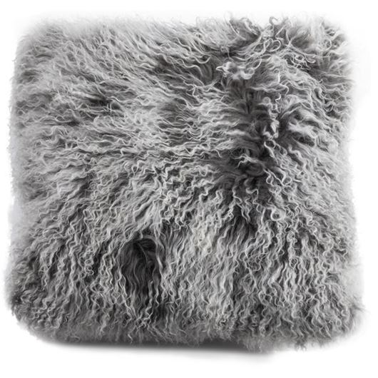 Picture of SNOWIE cushion cover 50x50 dark grey